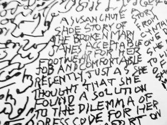 Close-up A Susan Chute shoe story