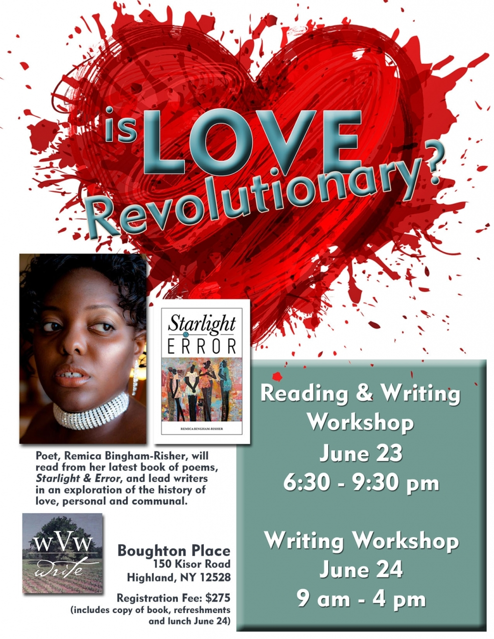 BinghamR_WEB - Reading and Writing Workshop_June 2017_Wallkill Valley Writers version 2.jpg