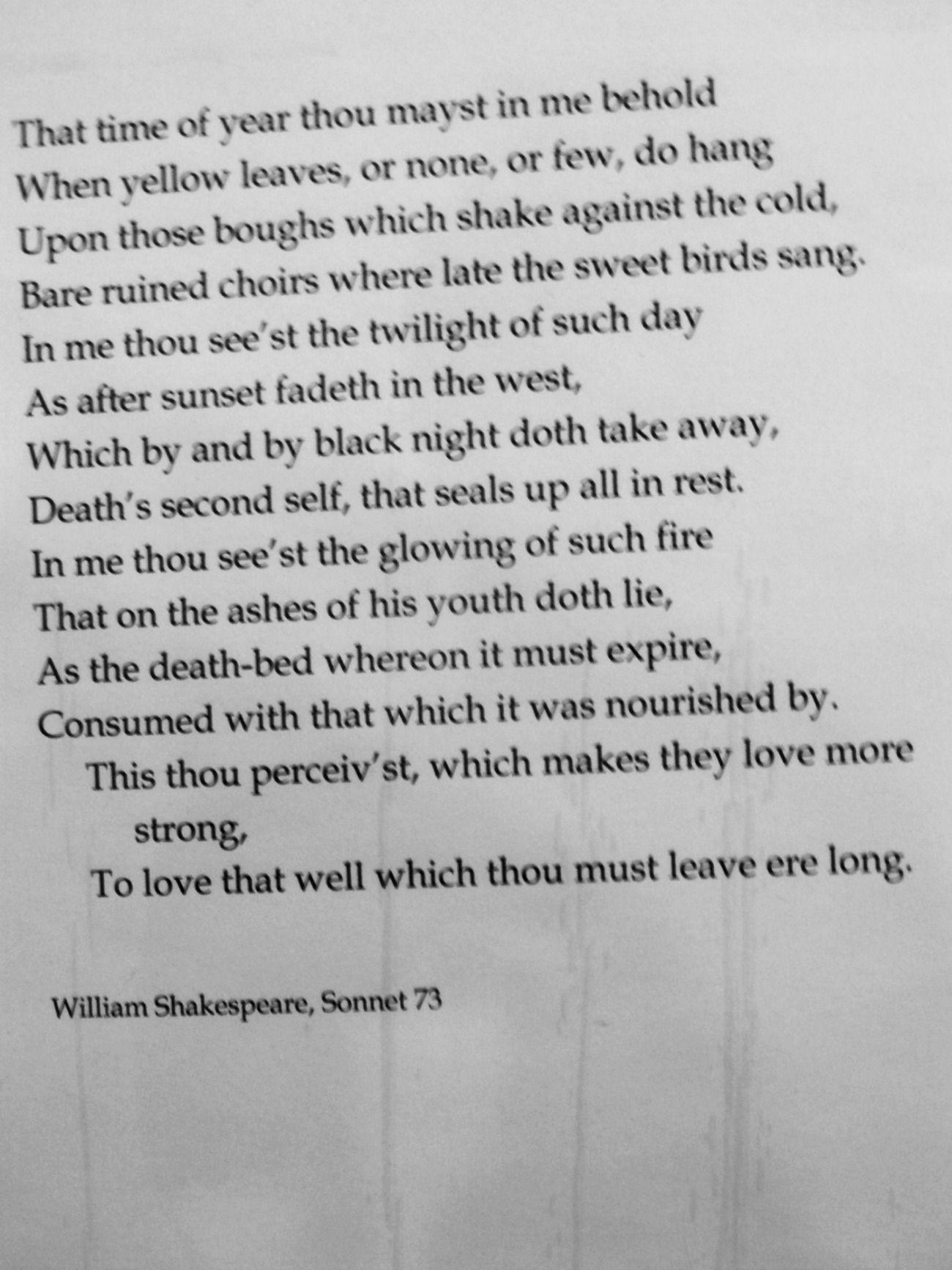shakespeare sonnet 73 text
